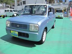 沖縄の中古車 スズキ アルトラパン 車両価格 16万円 リ済込 平成14年 11.3万K ブルーII