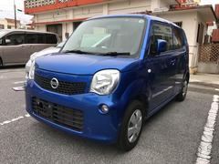 沖縄の中古車 日産 モコ 車両価格 39万円 リ済込 平成25年 7.5万K ブルー