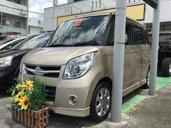 沖縄の中古車 スズキ パレット 車両価格 49万円 リ済込 平成20年 5.8万K ゴールド