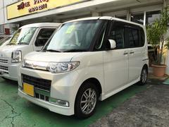 沖縄の中古車 ダイハツ タント 車両価格 59万円 リ済込 平成22年 7.5万K パールホワイト