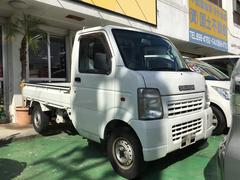 沖縄の中古車 スズキ キャリイトラック 車両価格 49万円 リ済込 平成17年 4.3万K ホワイト