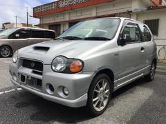 沖縄の中古車 スズキ アルトワークス 車両価格 29万円 リ済込 平成11年 7.1万K シルバー