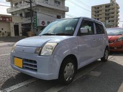 沖縄の中古車 スズキ アルト 車両価格 17万円 リ済込 平成19年 7.2万K ライトブルー
