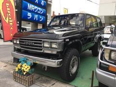 沖縄の中古車 トヨタ ランドクルーザー60 車両価格 139万円 リ済込 平成1年 27.7万K ブラック