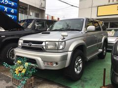 沖縄の中古車 トヨタ ハイラックスサーフ 車両価格 125万円 リ済込 平成12年 14.7万K シルバー