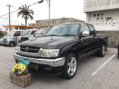 沖縄の中古車 トヨタ ハイラックススポーツピック 車両価格 109万円 リ済込 平成14年 15.4万K ブラック