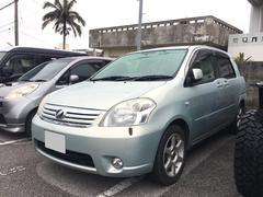 沖縄の中古車 トヨタ ラウム 車両価格 35万円 リ済込 平成19年 7.2万K ライトブルー