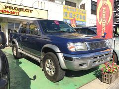沖縄の中古車 日産 ダットサンピックアップ 車両価格 129万円 リ済込 平成13年 14.2万K ブルー