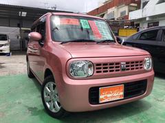 沖縄の中古車 スズキ アルトラパン 車両価格 55万円 リ済別 平成24年 8.8万K ピンク