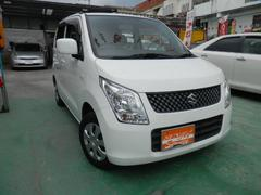 沖縄の中古車 スズキ ワゴンR 車両価格 52万円 リ済込 平成23年 7.4万K ホワイト