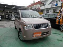 沖縄の中古車 三菱 eKワゴン 車両価格 53万円 リ済込 平成25年 2.0万K ピンク