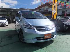沖縄の中古車 ホンダ フリード 車両価格 60万円 リ済込 平成20年 9.6万K ブルー