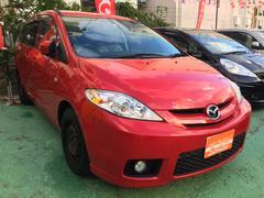 沖縄の中古車 マツダ プレマシー 車両価格 55万円 リ済込 平成19年 2.9万K レッド