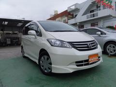 沖縄の中古車 ホンダ フリード 車両価格 55万円 リ済込 平成20年 10.3万K パール