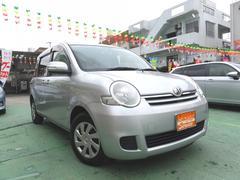 沖縄の中古車 トヨタ シエンタ 車両価格 37万円 リ済込 平成20年 9.0万K シルバー