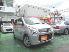 沖縄の中古車 スズキ ワゴンR 車両価格 59万円 リ済込 平成25年 5.7万K シルバー