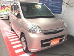 沖縄の中古車 スバル ステラ 車両価格 37万円 リ済込 平成21年 6.6万K ピンク