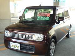 沖縄の中古車 スズキ アルトラパン 車両価格 73万円 リ済別 平成24年 7.1万K ブラウンM