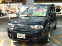 沖縄の中古車 日産 キューブ 車両価格 49万円 リ済別 平成22年 8.3万K サファイアブラックP