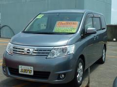 沖縄の中古車 日産 セレナ 車両価格 79万円 リ済別 平成22年 6.4万K ライトグレーM