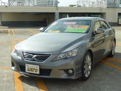 沖縄の中古車 トヨタ マークX 車両価格 129万円 リ済別 平成23年 6.5万K グレーM