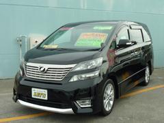 沖縄の中古車 トヨタ ヴェルファイア 車両価格 159万円 リ済別 平成20年 9.3万K ブラック