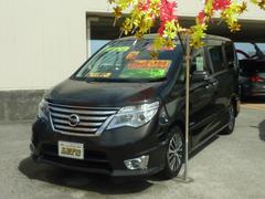 沖縄の中古車 日産 セレナ 車両価格 185万円 リ済別 平成26年 7.0万K DブラウンM