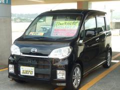 沖縄の中古車 ダイハツ タントエグゼ 車両価格 76万円 リ済別 平成22年 7.9万K ブラックマイカメタリック