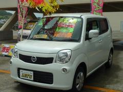 沖縄の中古車 日産 モコ 車両価格 63万円 リ済別 平成24年 6.1万K スノーパールホワイト