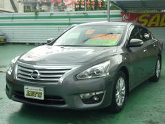 沖縄の中古車 日産 ティアナ 車両価格 149万円 リ済別 平成26年 2.1万K ダークメタルグレーM