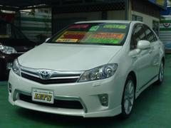 沖縄の中古車 トヨタ SAI 車両価格 139万円 リ済別 平成24年 7.0万K ホワイトパールクリスタルシャイン