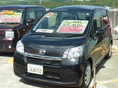 沖縄の中古車 ダイハツ ムーヴ 車両価格 79万円 リ済別 平成25年 4.7万K ブラックマイカメタリック