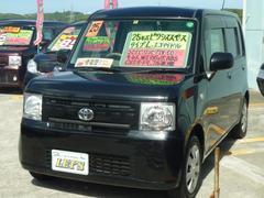 沖縄の中古車 トヨタ ピクシススペース 車両価格 65万円 リ済別 平成25年 7.7万K ブラックマイカメタリック