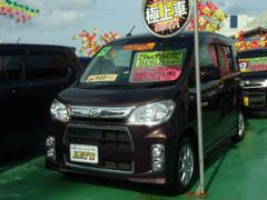 沖縄の中古車 ダイハツ タントエグゼ 車両価格 79万円 リ済別 平成24年 8.0万K プラムブラウンクリスタルマイカ