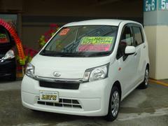 沖縄の中古車 ダイハツ ムーヴ 車両価格 69万円 リ済別 平成25年 6.5万K ホワイト