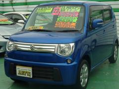 沖縄の中古車 スズキ MRワゴン 車両価格 72万円 リ済別 平成23年 6.0万K エアブルーメタリック