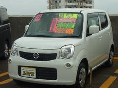 沖縄の中古車 日産 モコ 車両価格 62万円 リ済別 平成23年 3.4万K スノーパールホワイト