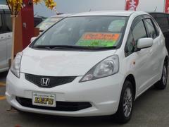 沖縄の中古車 ホンダ フィット 車両価格 25万円 リ済別 平成20年 14.0万K タフタホワイト