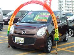沖縄の中古車 マツダ キャロル 車両価格 49万円 リ済別 平成23年 3.7万K マルーンブラウンパール
