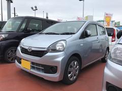 沖縄の中古車 ダイハツ ミライース 車両価格 90万円 リ済別 平成28年 0.8万K シルバー
