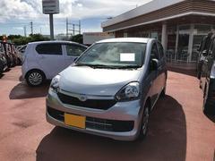 沖縄の中古車 ダイハツ ミライース 車両価格 98万円 リ済別 平成28年 0.4万K シルバー