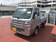 沖縄の中古車 ダイハツ ハイゼットトラック 車両価格 95万円 リ済別 平成28年 5K シルバー