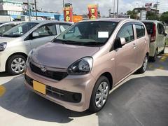 沖縄の中古車 ダイハツ ミライース 車両価格 95万円 リ済別 平成28年 0.3万K ピンク