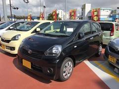 沖縄の中古車 ダイハツ ミライース 車両価格 92万円 リ済別 平成28年 6K ブラック