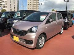 沖縄の中古車 ダイハツ ミライース 車両価格 102万円 リ済別 平成28年 25K ピンク