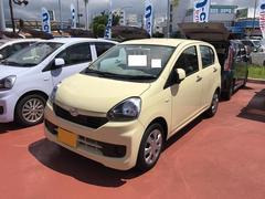 沖縄の中古車 ダイハツ ミライース 車両価格 98万円 リ済別 平成28年 0.2万K ライトイエロー