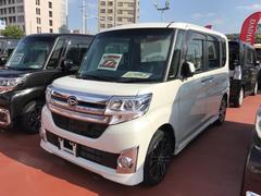 沖縄の中古車 ダイハツ タント 車両価格 161万円 リ済別 平成26年 3.2万K パールホワイト