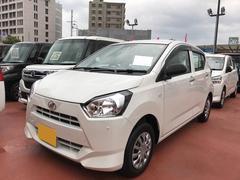 沖縄の中古車 ダイハツ ミライース 車両価格 97万円 リ済別 平成29年 0.2万K ホワイト