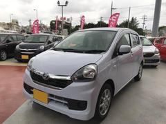 沖縄の中古車 ダイハツ ミライース 車両価格 103万円 リ済別 平成28年 0.7万K ライトブルー