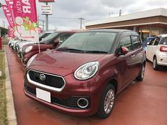 沖縄の中古車 ダイハツ ブーン 車両価格 152万円 リ済別 平成29年 1.3万K レッド